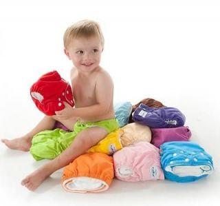 Fuzzibunz Fuzzi Bunz 6 Cloth Diapers Perfect Size XS XSmall Fit