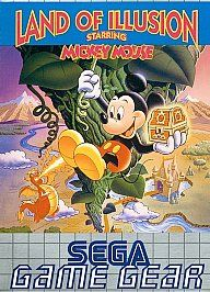 Land of Illusion starring Mickey Mouse Sega Game Gear, 1993