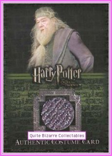Albus Dumbledore Michael Gambon C12 Costume Card Harry Potter Order