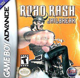 Road Rash Jailbreak Nintendo Game Boy Advance, 2003