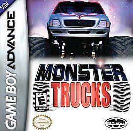 Monster Trucks   Nintendo Game Boy Advance Video GBA   Rated E 2004