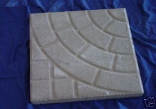 CIRCLE PAVING PATTERN 16 INCH STEPPING STONE CONCRETE GARDEN MOLD 2008