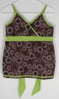 GARNET HILL Girls CrissCross Camisole Summer Tank Shirt Top 14 BTS 100