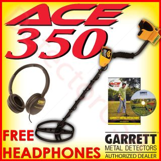 New GARRETT ACE 350 Metal Detector for Treasure & Beach Hunting Coin