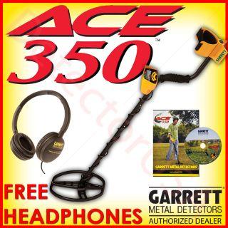 New GARRETT ACE 350 Metal Detector for Treasure & Beach Hunting Coin