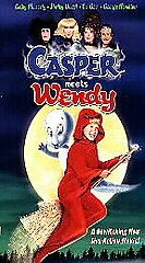 Casper Meets Wendy (VHS, 1998, Clamshell)