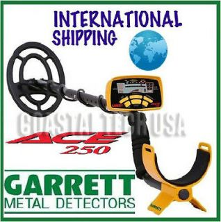 GARRETT ACE 250 METAL DETECTOR FREE 2 Year Warranty and Instructional