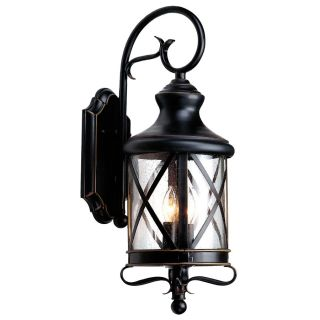 Shop allen + roth 29 1/4 in Oil Rubbed Bronze Outdoor Wall Light at