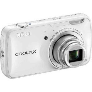 Nikon COOLPIX S800c Digital Camera (White) 26356