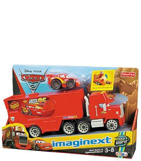 Fisher Price Imaginext Disney Pixar Cars 2 Vehicles 2 Pack   Mack