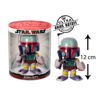 Abysse   Star Wars   Bobble head 12 cm Boba Fett Funko Force   Mixte