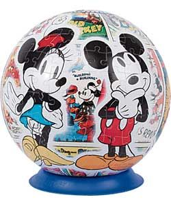 Buy Mickey and Minnie Mouse Retro 270 Piece 3D Jigsaw Puzzle at Argos