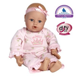 Adora Dolls Playtime Baby Doll Light Skintone Blue Eyes Pink Romper