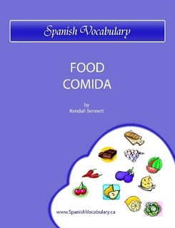 Spanish Vocabulary   Food Comida by Randall Bennett (eBook)   Lulu