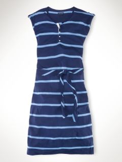 Rugby Striped Maxi Dress   Girls 7 16 Dresses & Rompers   RalphLauren