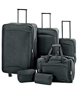 Buy Argos Value Range 6 Piece Luggage Set   Black at Argos.co.uk