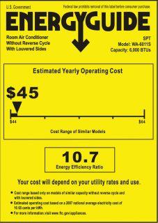 SPT 6,000 BTU Energy Star Window Air Conditioner with Remote  Wayfair