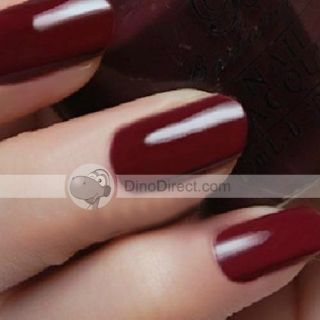 Wholesale 15ml Bottle Nail Polish Lacquer Dull Red   DinoDirect