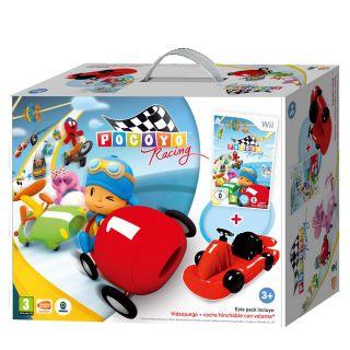 Pocoyó Racing Bundle + Coche hinchable Wii   Nintendo Wii   Juegos