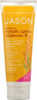 Jason Pure Natural Wheat Germ Vitamin E Hand and Body Lotion    8 fl