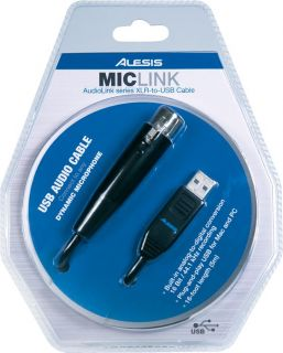 Alesis MicLink USB Audio Interface Cable  Musicians Friend