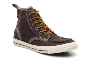 Chuck taylor all star classic boot canvas hi m Converse (Marron
