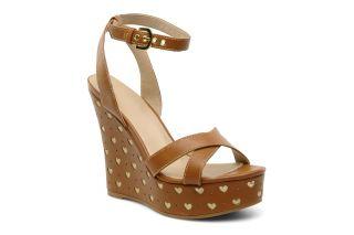 Laria Love Moschino (Marron)  livraison gratuite de vos Nu pieds et