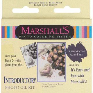 Marshalls Introductory Oil Set, for Hand Coloring Black & White and