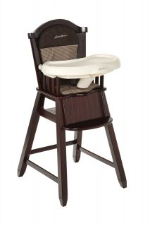 Eddie Bauer Classic High Chair (Cherry Wood)   Michelle   Best Price