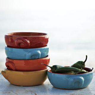 Terracotta Handled Bowls
