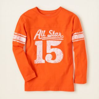 boy   long sleeve tops   sporty graphic tee  Childrens Clothing