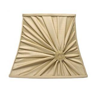 Gold Bowed Beaded Lamp Shade   Lamp shades   Lighting   Home