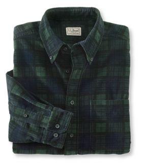 Camden Corduroy Shirt, Plaid Casual   at L.L.Bean