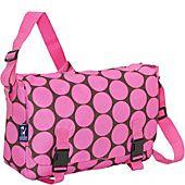 Wildkin Big Dots Pink Jumpstart Messenger Bag