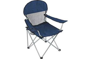 Deluxe Mesh Folding Camping Chair. from Homebase.co.uk