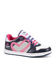 null (Multi Col) Pineapple Pink Heart Jumpin Trainers  260935699