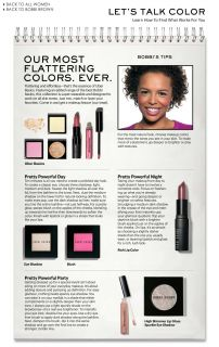Dillards  bobbi brown lets talk color