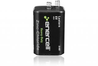 Enercell 6V Zinc Chloride Heavy Duty Lantern Battery  Power Tool