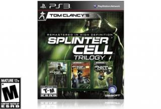 Tom Clancys Splinter Cell Classic Trilogy HD for PlayStation 3 : Sony