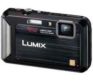 PANASONIC Lumix DMC FT20EB K Waterproof Compact Digital Camera   Black