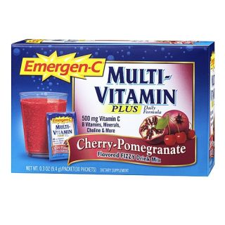 Buy the Alacer Emergen C® Multi Vitamin PLUS   Cherry Pomegranate on