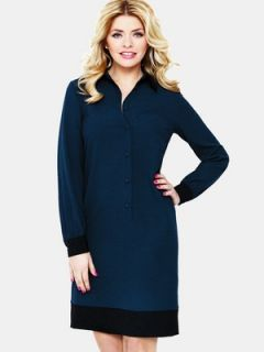 Holly Willoughby Contrast Shirt Dress Very.co.uk