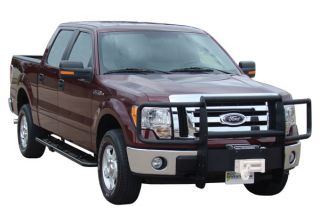 Go Industries Winch System Grille Guard with Optional Brush Guards and