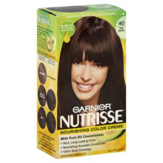 Garnier Nutrisse Permanent Hair Color   Dark Chocolate/Dark Brown 40