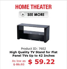 HOME THEATER PID 7602 High Quality TV Stand for Flat Panel