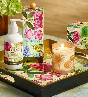 Botanical Tray, Soy Candle and Lotion Set from 1 800 FLOWERS 97354