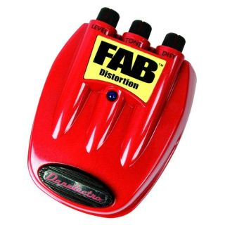 FAB™ Distortion Guitar Effects Foot Pedal  Maplin Electronics
