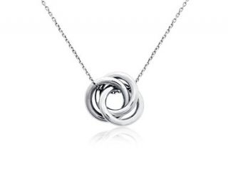 Love Knot Pendant in Platinum  Blue Nile