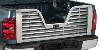 Husky Liners 5th Wheel Tailgate Shown with Sunshade Headache Rack
