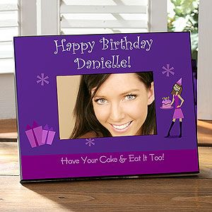 Birthday Girl Personalized Picture Frames   8643